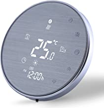 WiFi Smart Thermostat-Programmable Wireless Thermostats for Home(2019Update) Digital Temperature Controller, Gas/Water Boiler Heating Thermostat Compatible with Alexa Google Home 220V