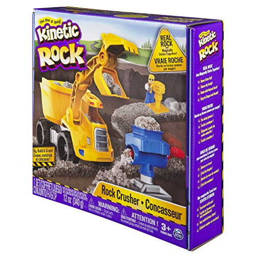 Bizak Kinetic Sand - Rock, playset trituradora 61921448