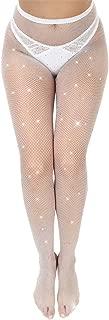 Best white rhinestone stockings Reviews