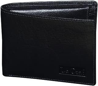 Le Craf Black Men's Leather Wallet