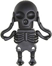 Aneew 64GB Black Pendrive Skull Model USB Flash Drive Memory Thumb Stick