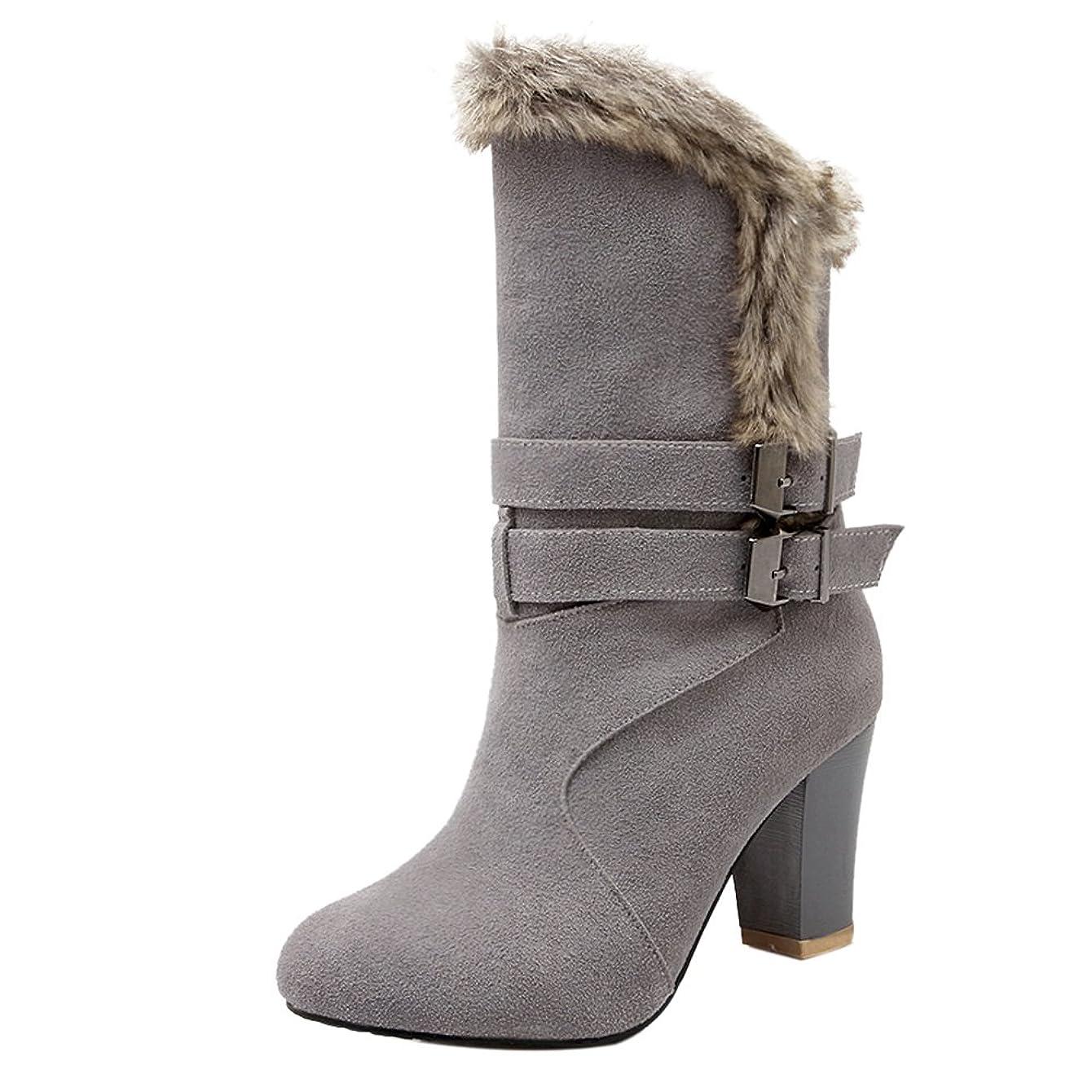 やむを得ない宝石に渡って[KemeKiss] レディース 冬用 ブーツ ハイヒール