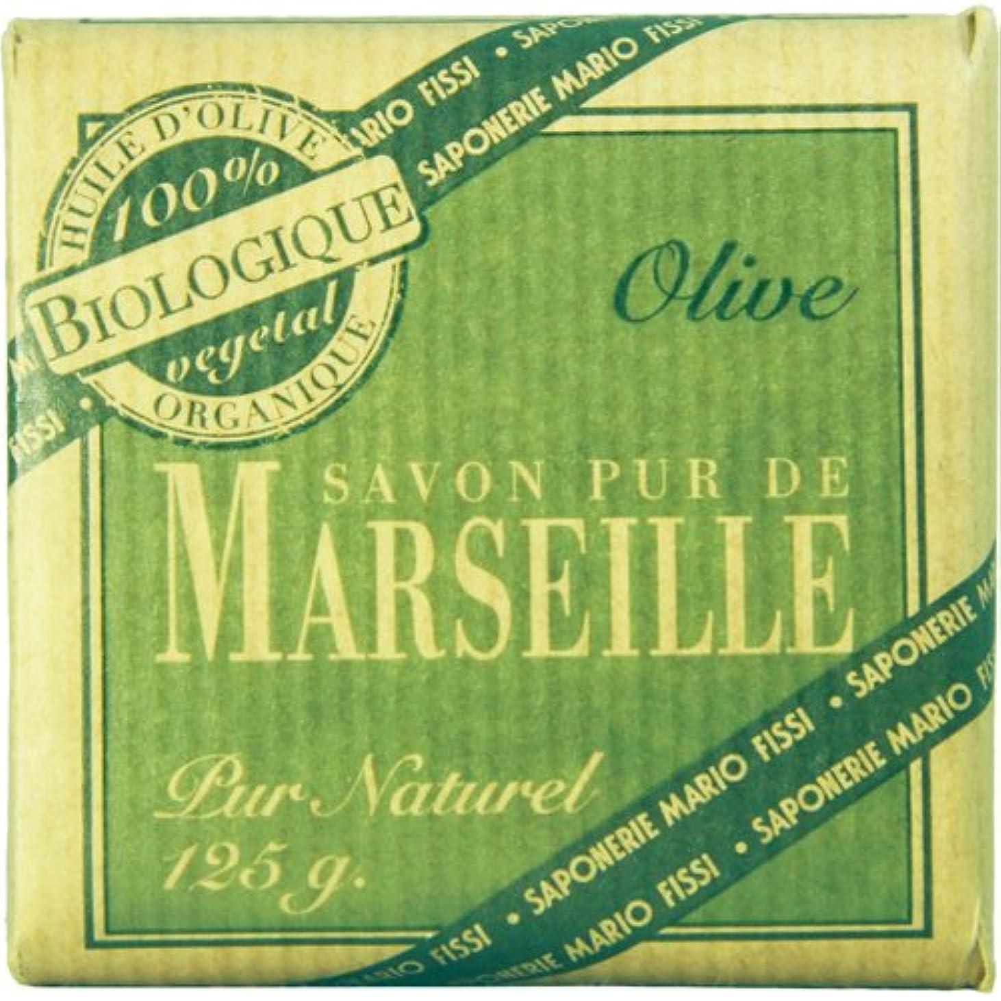不適農業スリットSaponerire Fissi マルセイユシリーズ マルセイユソープ 125g Olive オリーブ