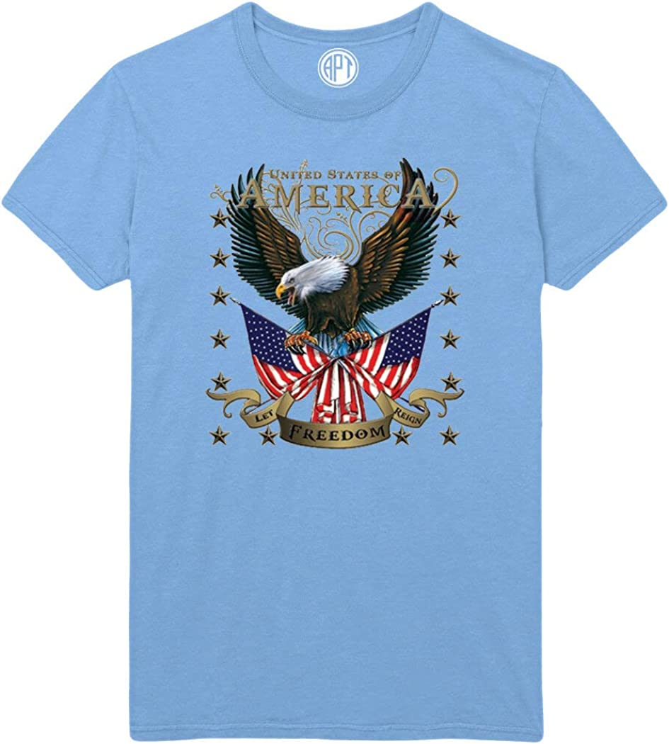 American Eagle Let Freedom Reign Printed T-Shirt