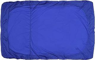 dDanke ホットタブカバー 風呂ふた 浴室用 保護カバー 防塵 温度維持 細菌防ぐ ミニプール ポリエチレン 耐熱性 ブラック 三種類 ゴムリング固定 (M,ブルー)