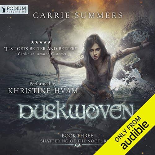 Duskwoven audiobook cover art