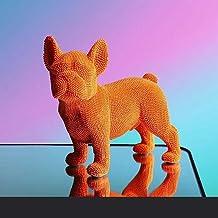 Deeltje Kleur Dier Puppy Sculptuur Ambachten Desktop Decoratie