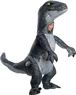Rubie's Jurassic World: Fallen Kingdom Child Velociraptor Inflatable Costume with Sound (One Size)