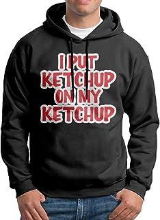 Wxf Women I Put Ketchup On My Ketchup Classic Walk Black Hoodie