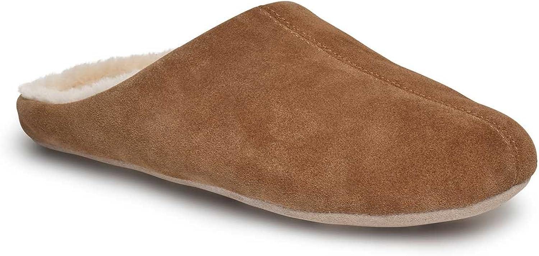 Just Sheepskin Mens Kilburn Sheepskin Slippers