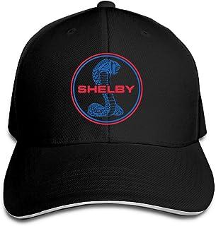 ccc048f9 BIUBUL Shelby Cobra Logo Baseball Caps Mens Snapback Hip Hop Flat Hat