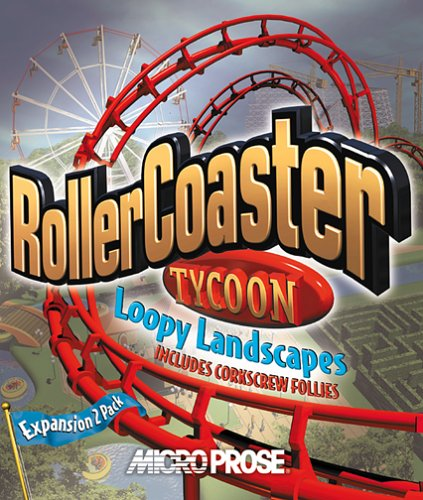 Roller Coaster Tycoon Loopy Landscapes (Jewel Case) - PC by Micro Prose