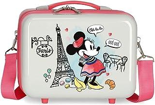 Disney Minnie Around the World Nececer Adaptable Multicolor 29x21x15 cms ABS