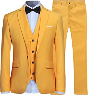 031f070bc1d Amazon.com  Yellows - Suits   Sport Coats   Clothing  Clothing ...