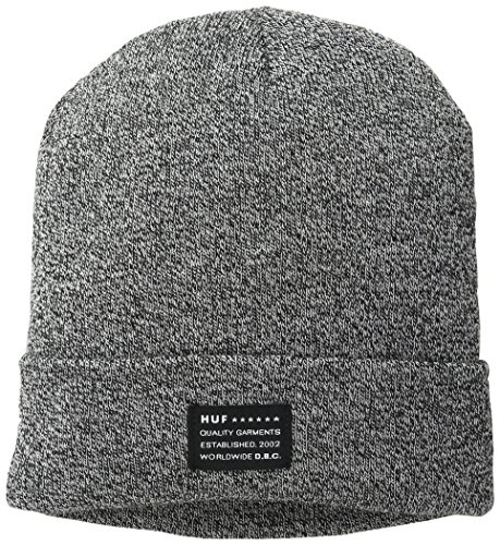 BONNET HUF MIXED AND YARN NOIR - Taille unique, black