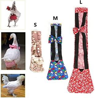 SHINA Pet Goose Chicken Duck Poultry Adjustable Cloth Diaper Farm