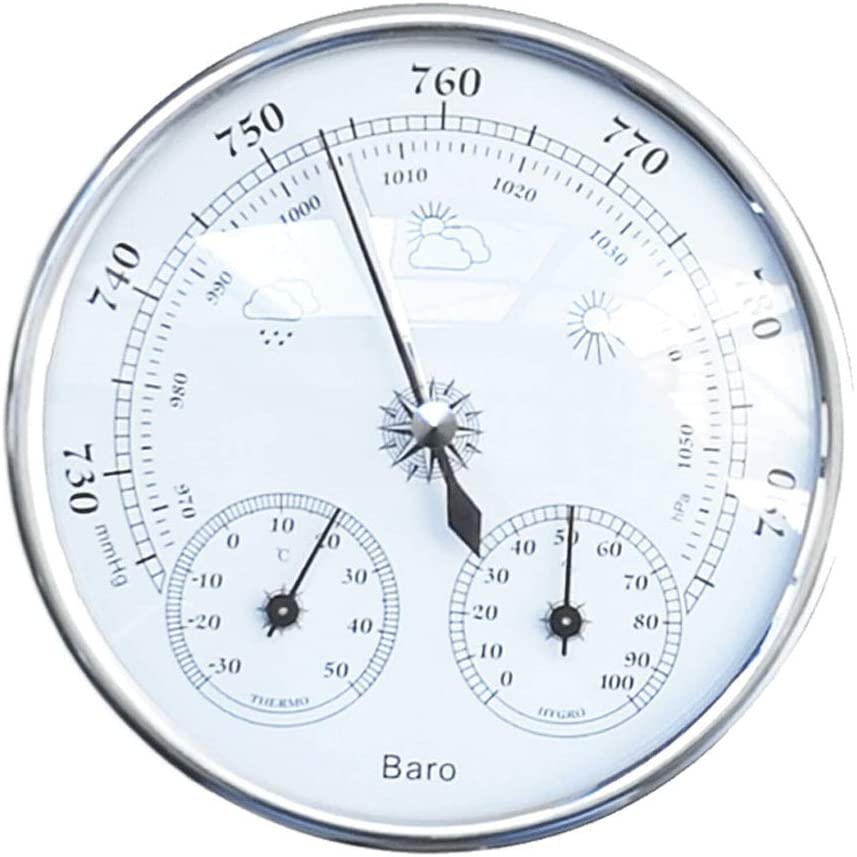 Max 86% OFF Three-in-one Weather Station Thermometer Ca Hygrometer Barometer Max 60% OFF