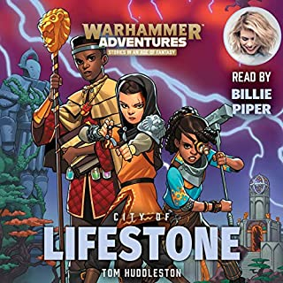 Warhammer Adventures: City of Lifestone audiobook cover art