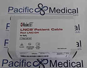 New - Masimo LNCS Patient Cable Red LNC-04 for SpO2 - 2055