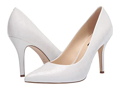 Nine West Flax Pump (White 1) High Heels