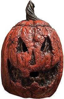 Trick or Treat Studios Rotting Pumpkin Halloween Full Head Mask, Orange