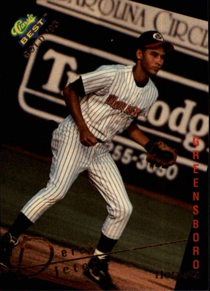 5 popular 1993 Max 80% OFF Classic Best Gold #115 Derek Baseball Rookie Jeter Tradi RC