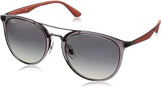 RB4285 Square Sunglasses, Transparent Grey/Grey Gradient, 55 mm