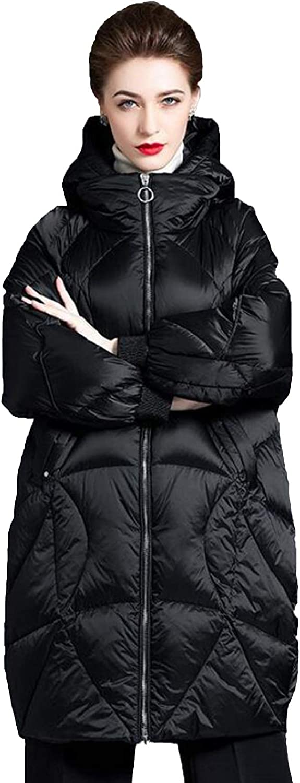 FTFDTMY Womens Down Jacket Winter Parka Some reservation New Coat Over item handling Mi