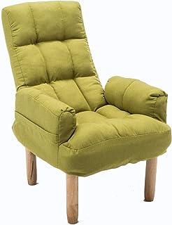Jamba Divano Divano a Due posti Comodo Divano Pieghevole reclinabile in Tessuto (Color : Green)