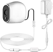 Frienda Adapter with 20 Feet/6 m Power Cable Compatible with Arlo (Replace CR123A), Weatherproof Outdoor to Continuously Operate Arlo, Not Compatible with Alro Pro and Arlo 2 (1 Pack)