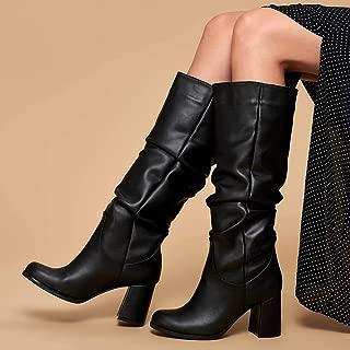 19K-968 Siyah Kadın Çizme
