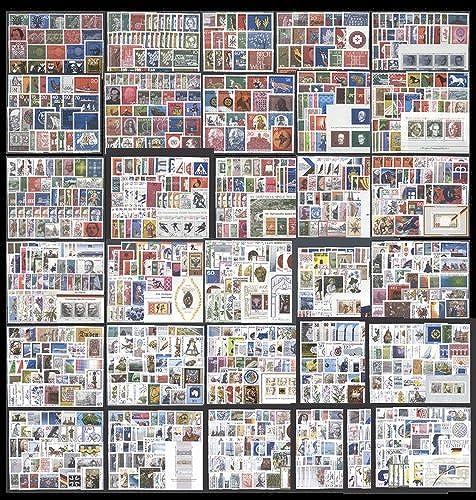 Goldhahn Bundesrepublik 1960-1990 Postfrische Komplettsammlung - Briefmarken Für Sammler