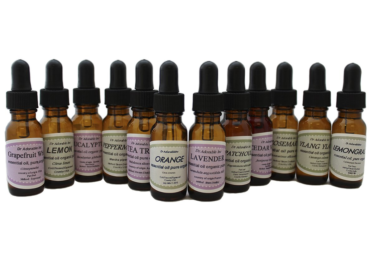 Start Set 100% Pure Therapeutic Kit Long-awaited 12 Popular products Grade Essential Oils
