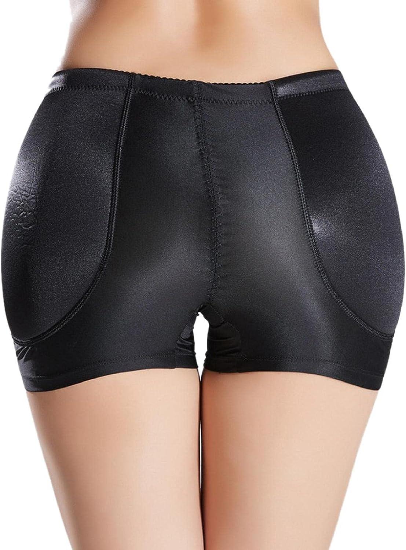 Womens Plus Size Butt Padded Panties Underwear Butt Lifter Hip Enhancer Pads Shaper Booty Briefs Boyshorts
