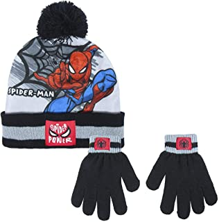 CERDÁ LIFE'S LITTLE MOMENTS 2200005852 Set di Guanti e Cappello di Spiderman, Azul y Negro, Solo Bimbo