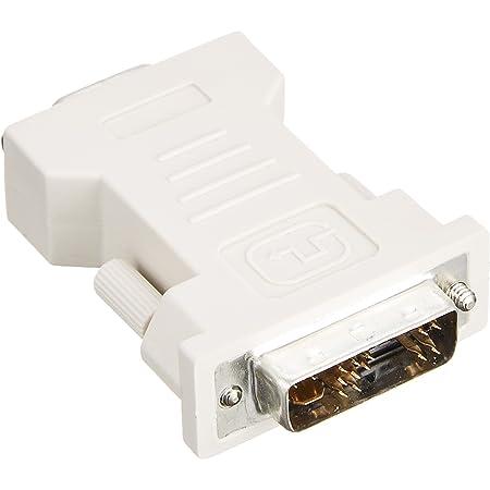 BUFFALO ディスプレイ変換アダプター DVI-Iオス:D-Sub15メス BSDCDE01