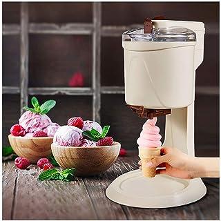 Machine électrique crème glacée, des ménages 1L Capacité DIY automatique sorbetière rapide amovible facile à nettoyer Gela...