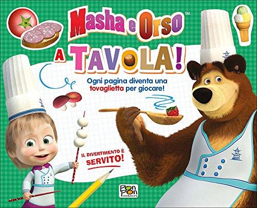 A tavola con Masha e Orso. Ediz. illustrata. Con gadget