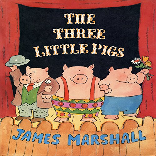 The Three Little Pigs  By  cover art