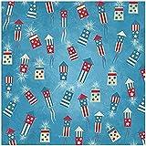 KAREN FOSTER Design Scrapbooking Paper, 25 Sheets, Fireworks Stand, 12 x 12