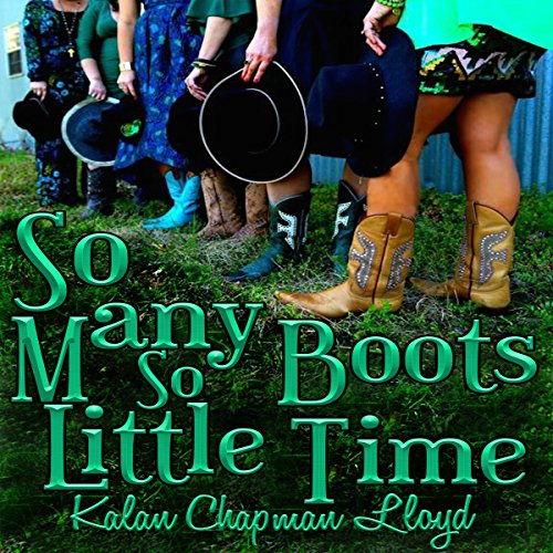 So Many Boots, So Little Time audiobook cover art