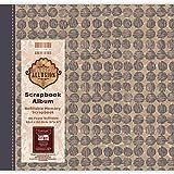 "First Edition Perfect Allusion - Circles Scrapbook Album 8""x8"""