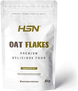 comprar comparacion Copos de Avena Integrales Finos Oat Flakes de HSN | Cereal con Proteínas, Carbohidratos de Lenta Digestión y Ácidos Grasos...