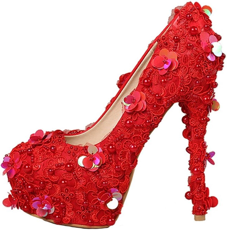 Miyoopark LL176 Women's Sequin Bridal Bridesmaid Wedding Evening Pumps shoes