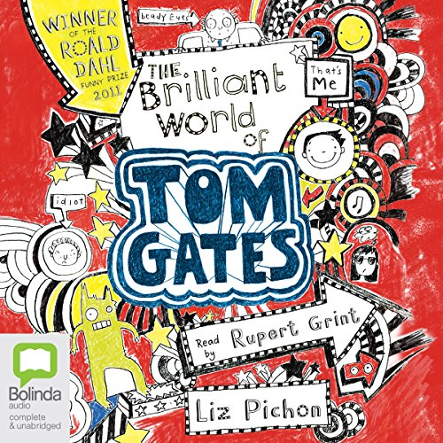 The Brilliant World of Tom Gates audiobook cover art