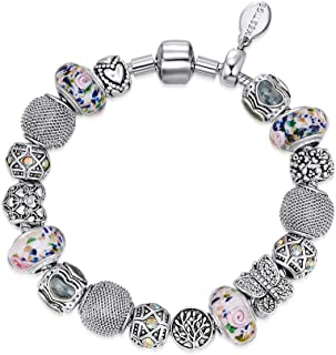 Mestige MSCB3058 Rhodium Plated Invigorating Bracelet for Women