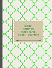 Blank isometric graph paper 8.5