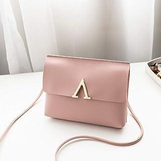 Wultia - Bags for WAMEN XCandy Color One Shoulder Small Messenger Bag Mobile Phone Bag Purse Bolsa Feminina Pink