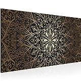 Bilder Mandala Wandbild 100 x 40 cm Vlies - Leinwand Bild