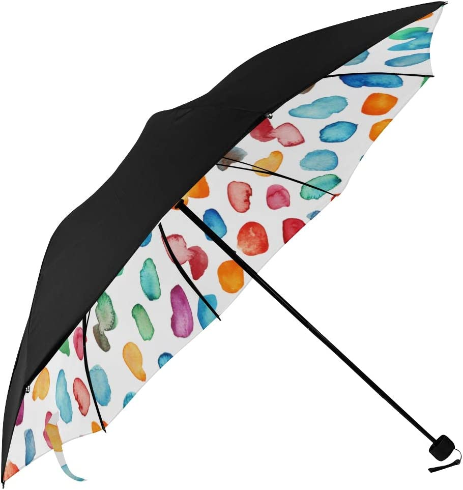Sun Umbrella Holder Geometric Retro It is very popular Colorful Art Dot Polka Under Max 68% OFF